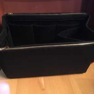 Handbags - Purse tote Large Insert+2 Zip  Protector Organizer